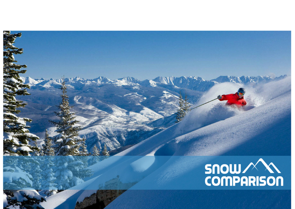 Snowcomparison - a ski resort comparison website